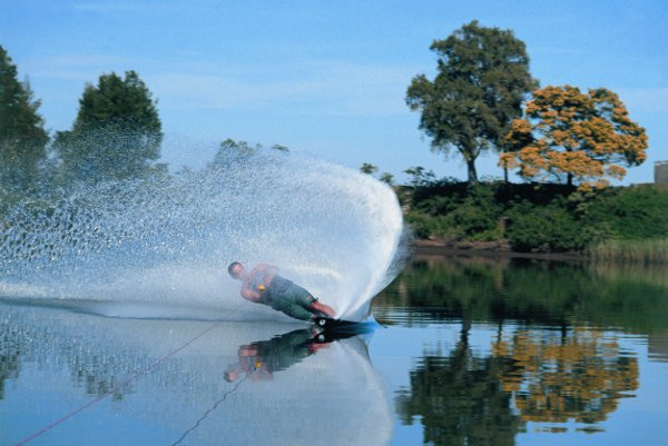 Water Ski on the Manning river