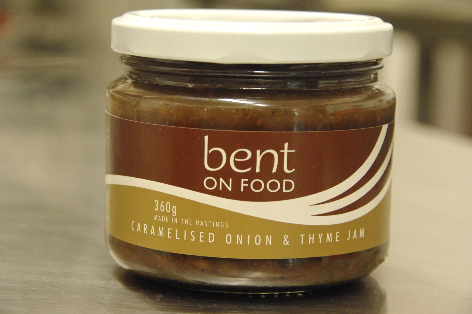 Bent Online - Bent on Food Caramelised Onion and Thyme Jam